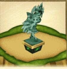アーモンドピークの像