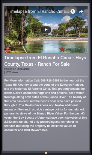 Farms For Sale in Texas screenshot