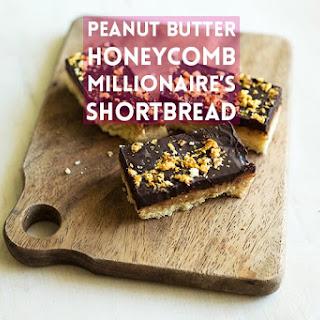 Peanut Butter Honeycomb Millionaire's Shortbread!