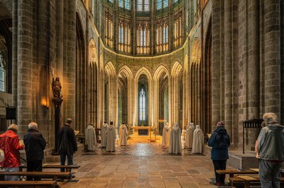 photo de église Abbatiale du Mont-Saint-Michel
