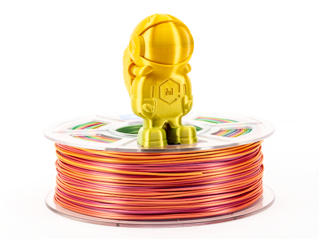 Silky Rainbow MH Build Series PLA Filament - 1.75mm (1kg)