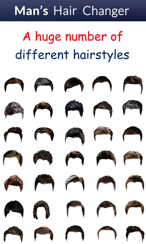 Surprising Man39S Hair Changer Hairstyle Android Apps On Google Play Hairstyles For Women Draintrainus