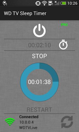 WD TV Sleep Timer 1.0 screenshots 2