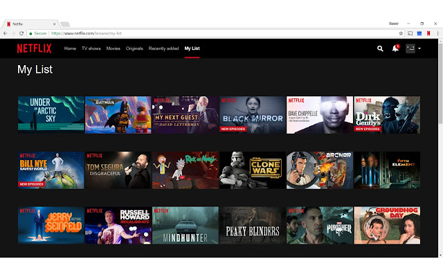 Netflix Randomizer