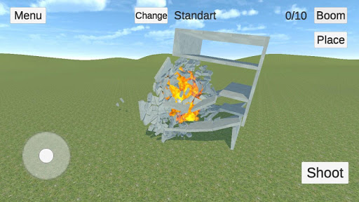 Destructive physics: slowmo demolitions simulation 0.95+ APK MOD screenshots 2