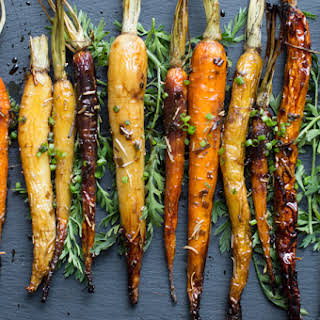 Baked Brown Sugar Glazed Carrots Recipes.