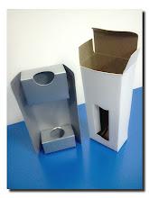 Photo: Protótipo de Embalagem para cosméticos com encaixe interno fora (Foto 5)
