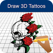 How to Draw 3D Tattoos