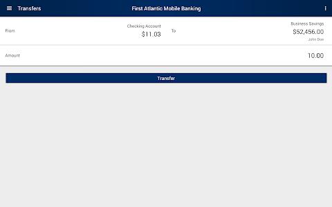 First Atlantic Mobile Banking screenshot 7