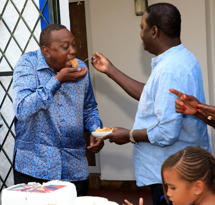 Image result for Uhuru wars with Ruto