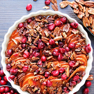 Cranberry Pecan Sweet Potato Casserole