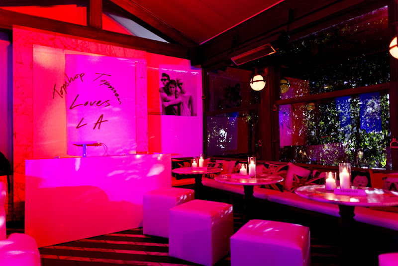 Photo: The interiors for the Topshop party.  Shop LA Style > http://bit.ly/XbGtM6