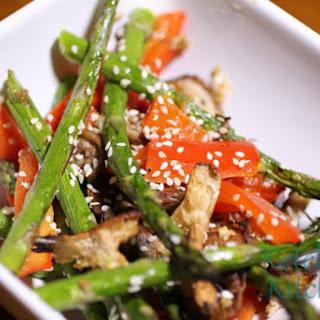 Asparagus Mushrooms Red Pepper Recipes.