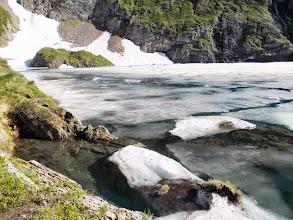 Photo: Icebergs glacés sur l'Etang long