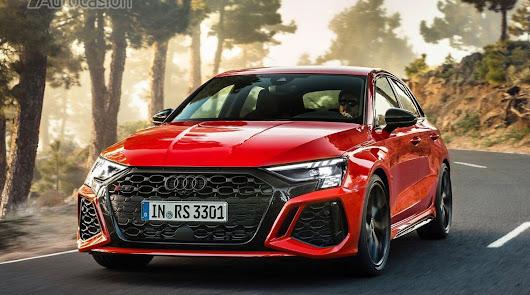 El nuevo Audi RS 3 Sportback 2022 cada vez más cerca de Vera Import