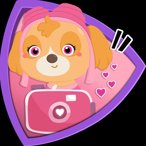 Skye Pawsome Camera Patrol : Stickers and Emojis