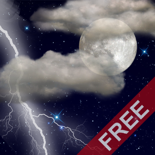The real thunderstorm - LWP APK