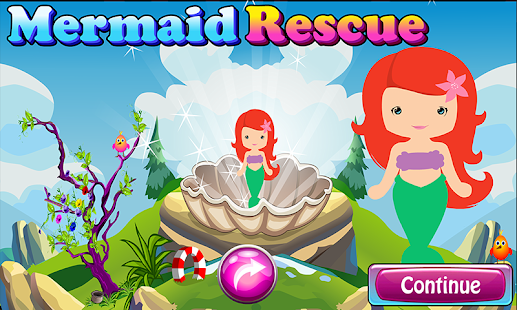 Mermaid Resuce Game 140 - náhled