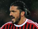Gennaro Gattuso wordt de nieuwe coach van AC Milan