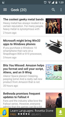 android 4TECH Screenshot 1
