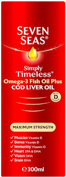 Seven Seas Extra High Strength Pure Cod Liver Oil - 300ml