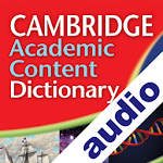 Audio Cambridge Academic Icon
