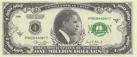obama million dollar bill