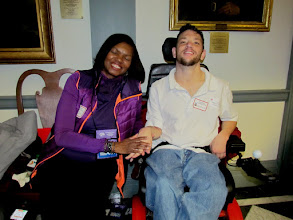 Photo: Advocates were all smiles during Disability Day at Legislative Hall on 3.25.15.