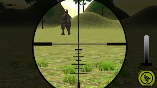Dino Hunting Jurassic Sniper3D screenshot 2