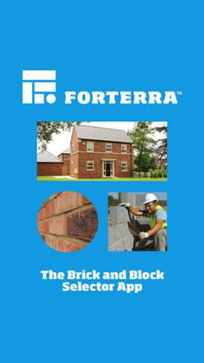 Forterra UK brick and block selector screenshot 1