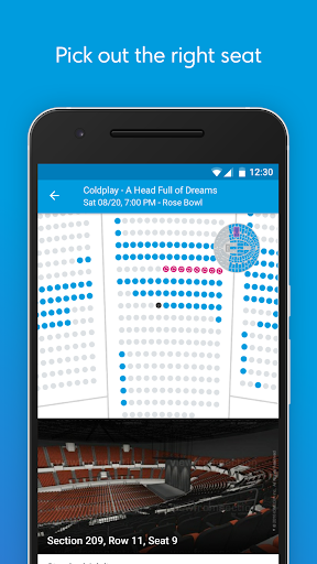 Ticketmaster Event Tickets Screenshot