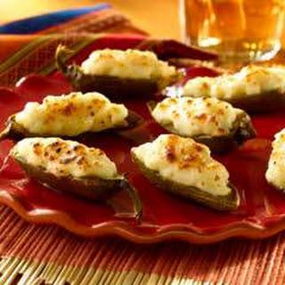 Creamy Jalapeno Poppers.