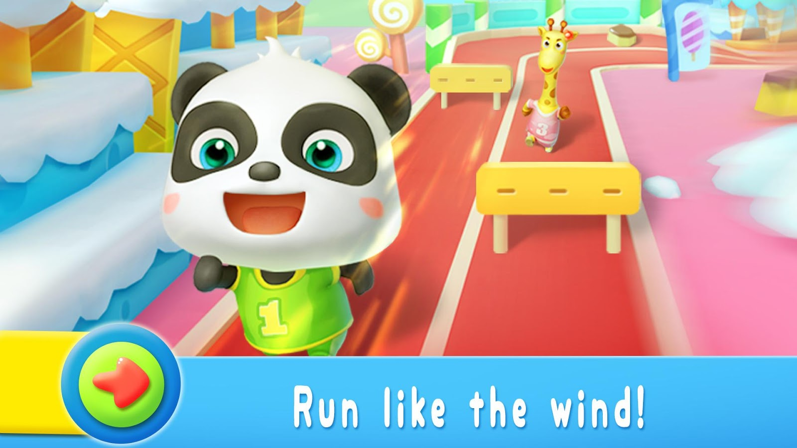 panda sports games for kids android apps on google play