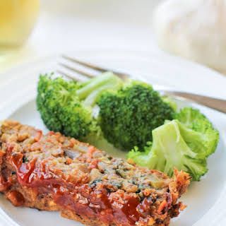 Thai Lentil Vegan Meatloaf with Marmalade Glaze.