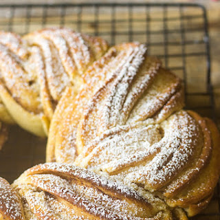 Estonian Kringle (Braided Cinnamon Bread).
