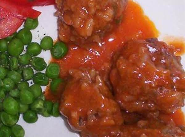 Yummy Porcupine Meatballs Recipe