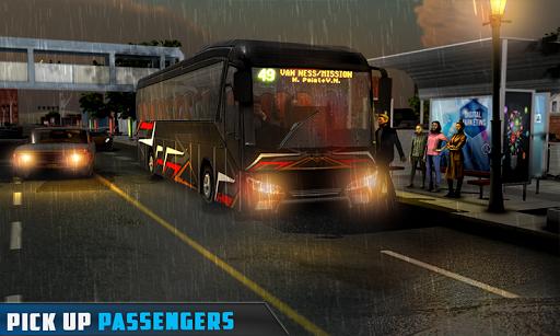 Coach Bus Simulator - City Bus Driving School Test 1.7 screenshots 4