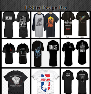 T-Shirt Designs Pro - náhled