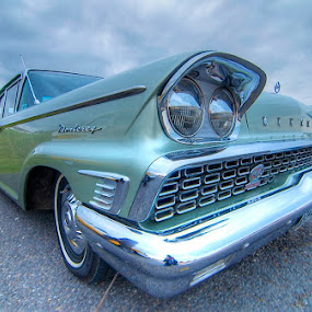 old car meeting  by Mark West - Transportation Automobiles