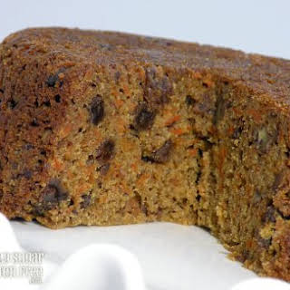 Steamed Carrot Cake Pudding.