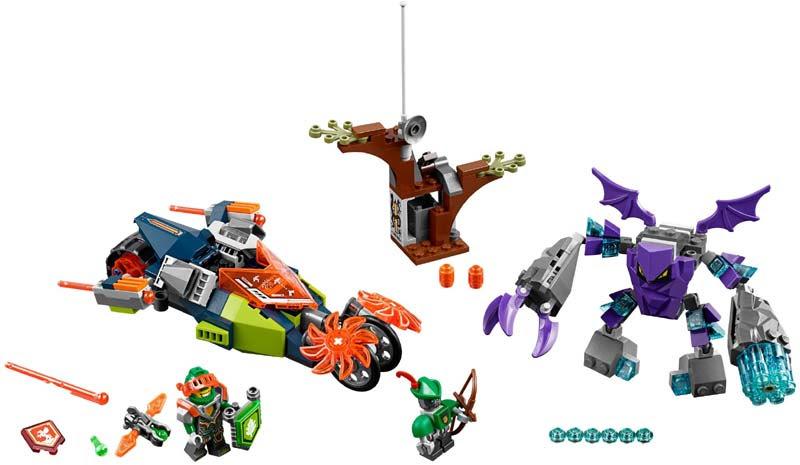 Contenido de Lego® 70358 Rebanador de Aaron