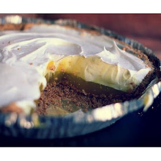 Lemon Pudding Pie