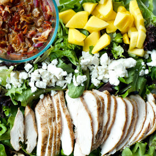 Chicken Mango Bacon Salad
