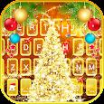Aureate Christmas Keyboard Theme