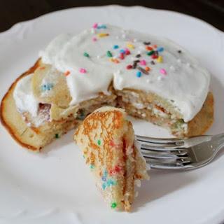 Funfetti Cupcake Pancakes