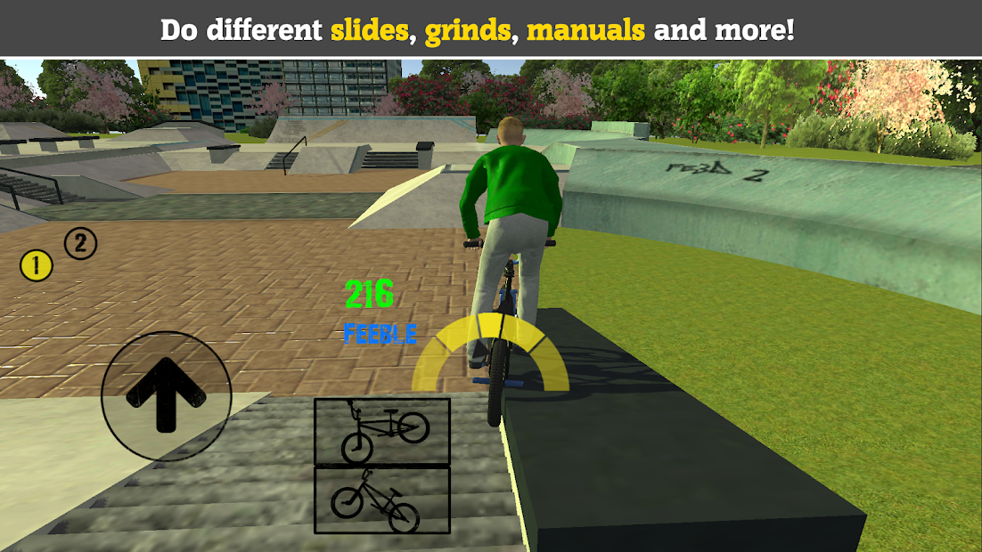 BMX FE3D 2 - Freestyle Extreme 3D Android App Screenshot