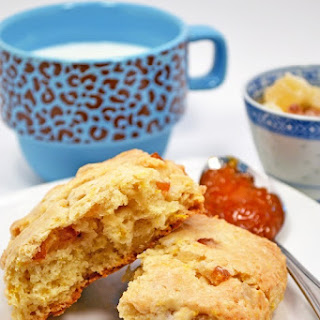 Orange Pineapple Scones