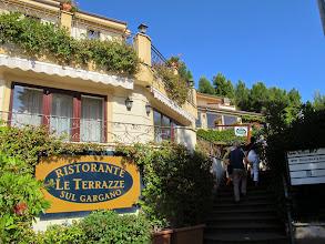 Photo: It.s4HR31-141009San Giovani Rotondo, hôtel-restaurant Le Terrazze, façade principale  IMG_5815