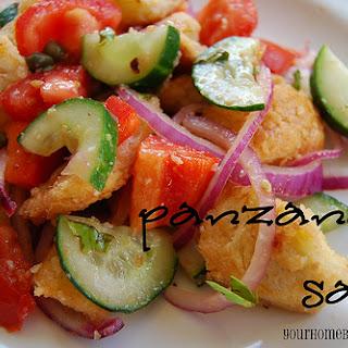 Barefoot Bloggers – Panzanella Salad.