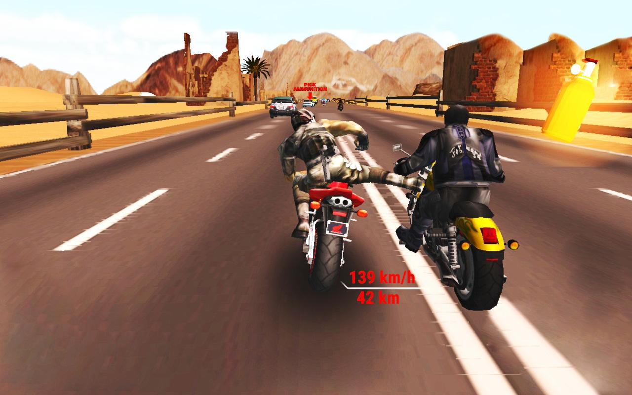 Highway Stunt Bike Riders VR- screenshot